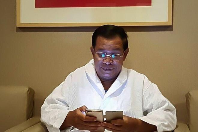 Thu tuong Hun Sen: Khong dung ung dung chat, khong duoc bo nhiem hinh anh 1