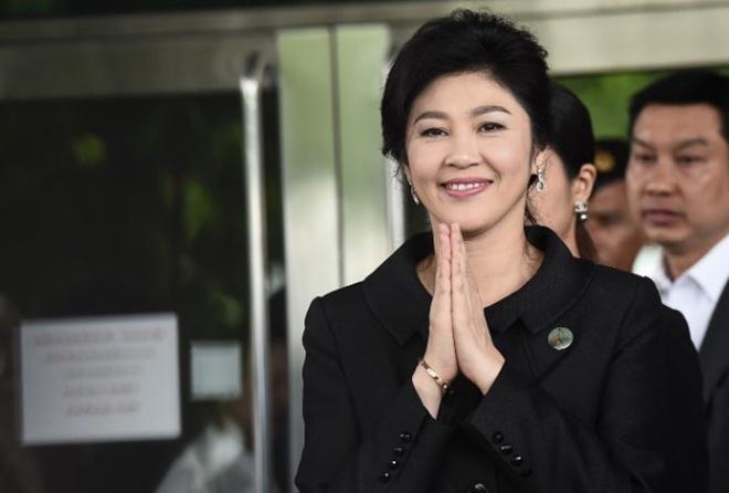 Thai Lan huy ho chieu cua ba Yingluck hinh anh