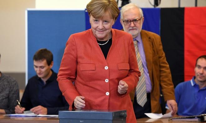 Lien minh chien thang, ba Merkel lam thu tuong nhiem ky thu 4 hinh anh 1