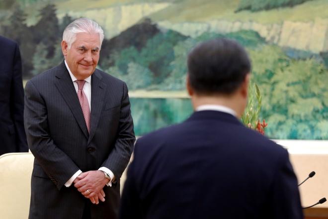 Tillerson: My da lien lac Trieu Tien, san sang doi thoai hinh anh 1
