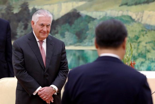 Tillerson: My da lien lac Trieu Tien, san sang doi thoai hinh anh