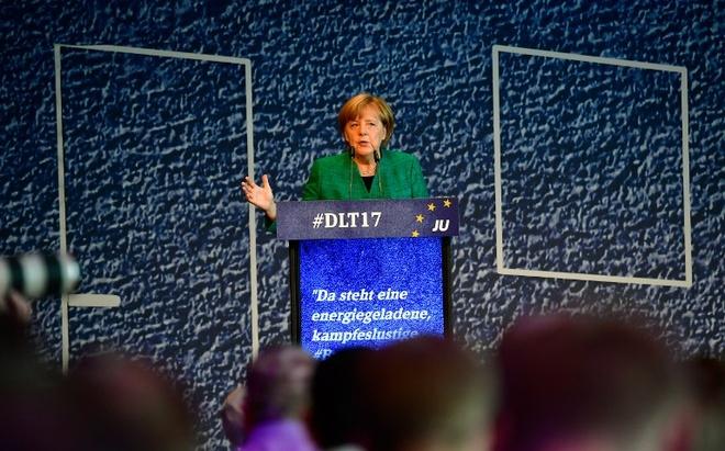 Merkel san sang phuong an 'lien minh Jamaica' hinh anh 1