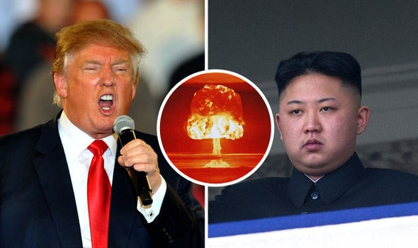 Trieu Tien goi Trump la 'ke buon chien tranh' hinh anh