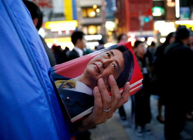 Bau cu o Nhat Ban: Ong Abe du kien thang de dang hinh anh 1
