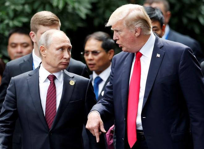 Tong thong Trump tiet lo noi dung tro chuyen voi ong Putin hinh anh