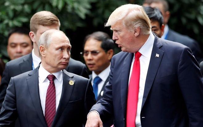 Trump va Putin dien dam ve van de Trieu Tien hinh anh