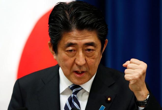 Abe: Trieu Tien phong ten lua la 'khong the dung thu' hinh anh