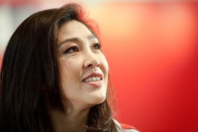 Bi an viec ba Yingluck duoc cap ho chieu Anh hinh anh