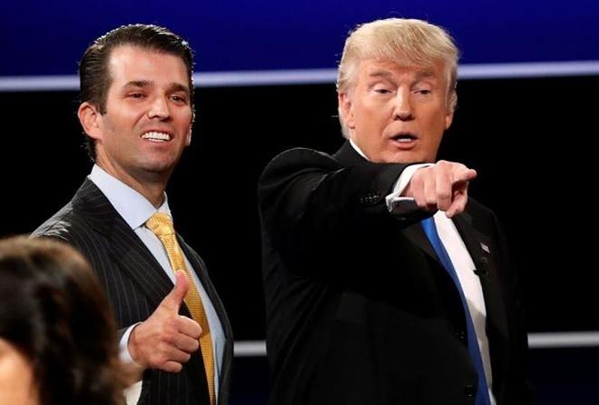 Con trai ca cua Trump bi Quoc hoi chat van vu Nga can thiep bau cu hinh anh