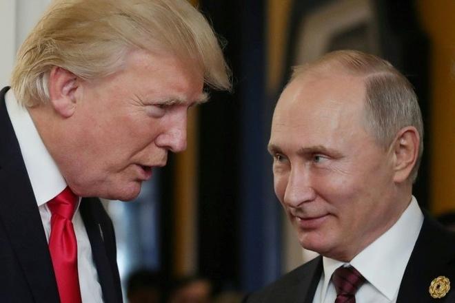 Trump va Putin dien dam ve khung hoang Trieu Tien hinh anh