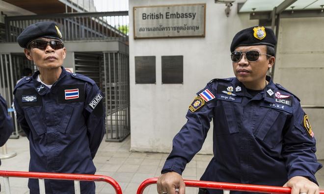 Thieu tien, Bo Ngoai giao Anh ban dai su quan o Bangkok hinh anh