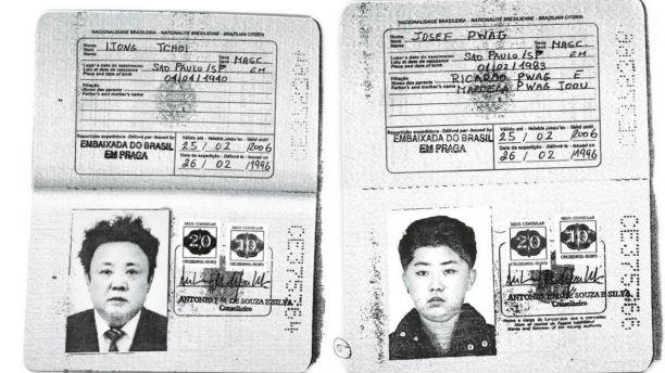 Cha con Kim Jong Un dung ho chieu Brazil de xin visa phuong Tay hinh anh
