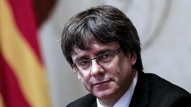 Cuu lanh dao Catalonia bi canh sat Duc bat giu hinh anh