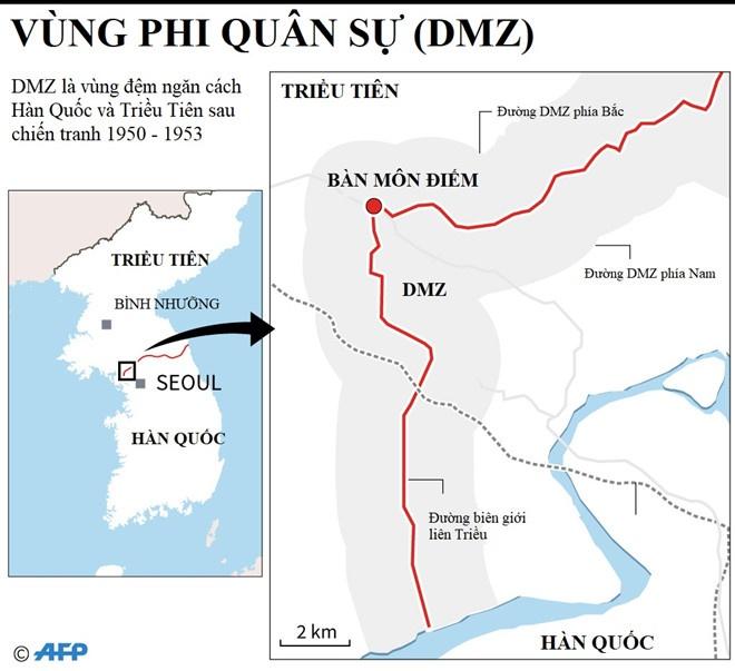 CNN: Kim Jong Un dong y gap Trump tai khu phi quan su DMZ hinh anh 2