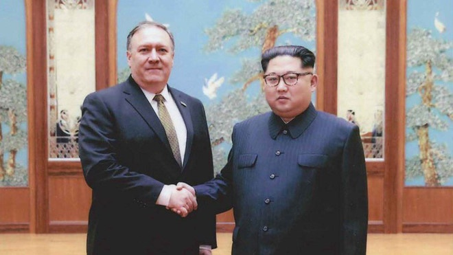 Ngoai truong My bi mat tro lai Trieu Tien cho cuoc gap Trump - Kim hinh anh 1