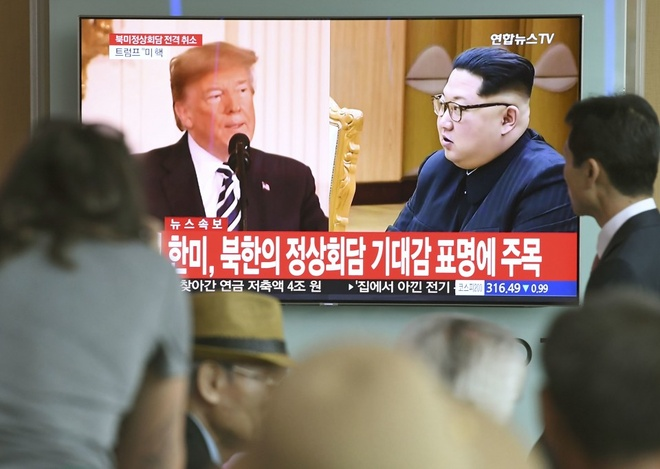 Kyodo: Cuoc gap Trump - Kim nguy co do be la do Trung Quoc hinh anh 2