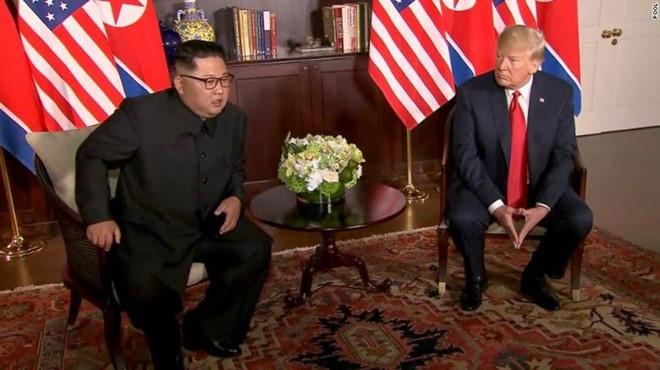 Kim Jong Un su dung chien thuat nao khi gap Trump? hinh anh