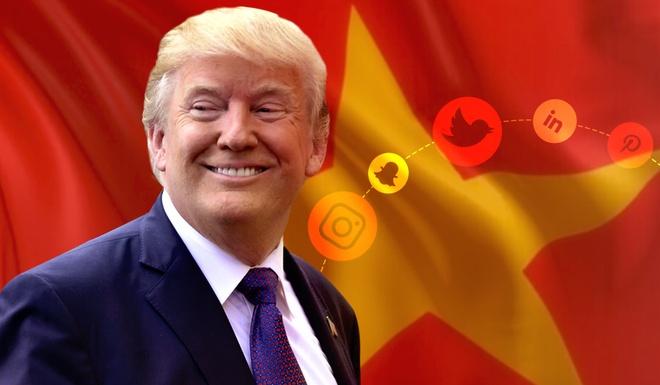 Tong thong Donald Trump viet gi tren mang khi den Viet Nam hinh anh