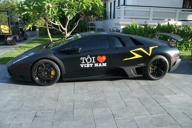 Ve dep sieu xe Lamborghini trieu USD cua Minh 'nhua' hinh anh 4