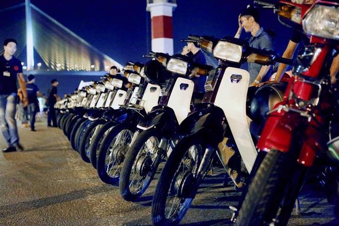 Gan 100 xe Honda Dream II tu hop o Quang Ninh hinh anh
