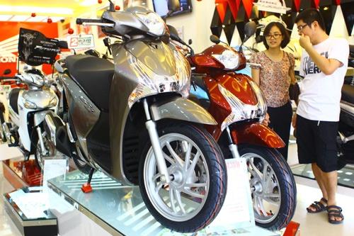 Honda SH 2012 bat ngo tang gia manh hinh anh