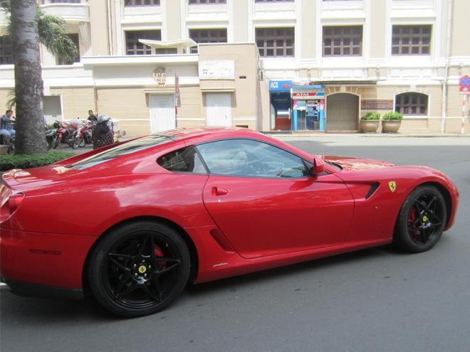 Ferrari 599 GTB doc nhat Viet Nam tai xuat o Sai Gon hinh anh 7