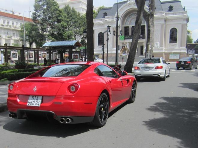 Ferrari 599 GTB doc nhat Viet Nam tai xuat o Sai Gon hinh anh 8