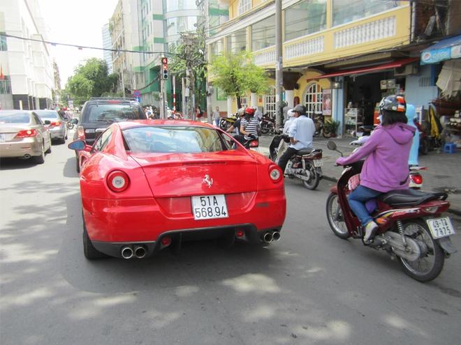 Ferrari 599 GTB doc nhat Viet Nam tai xuat o Sai Gon hinh anh 9