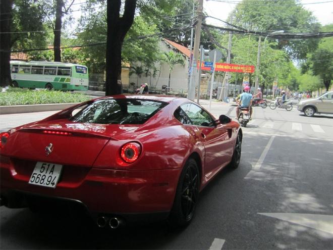 Ferrari 599 GTB doc nhat Viet Nam tai xuat o Sai Gon hinh anh 4