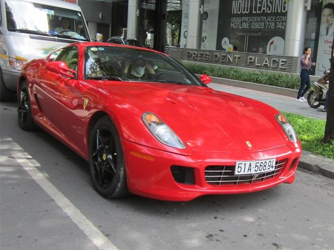 Ferrari 599 GTB doc nhat Viet Nam tai xuat o Sai Gon hinh anh 1