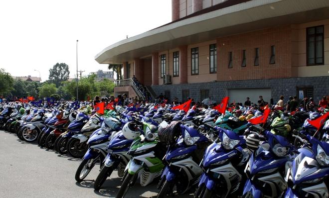 Gan 400 chiec Yamaha Exciter tu hop o Bac Ninh hinh anh