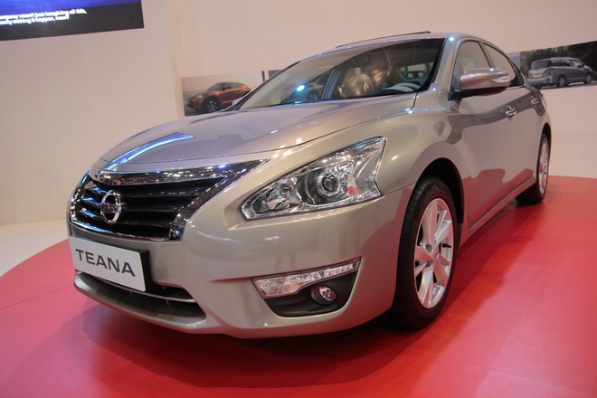 Anh chi tiet Nissan Teana 2013 3.5SL V6 o VMS 2013 hinh anh