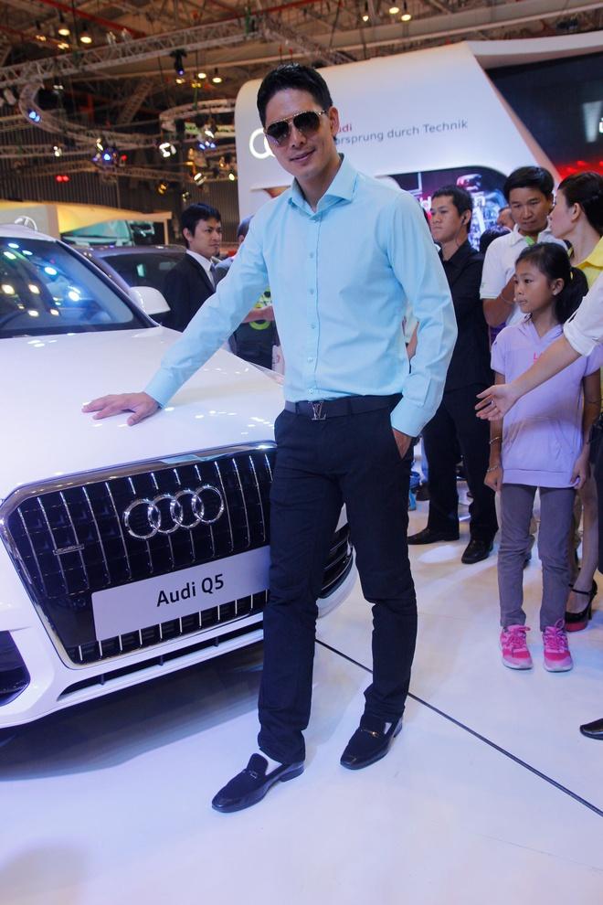 Binh Minh, Truong Ngoc Anh thu tieng po sieu xe Audi R8 hinh anh 7