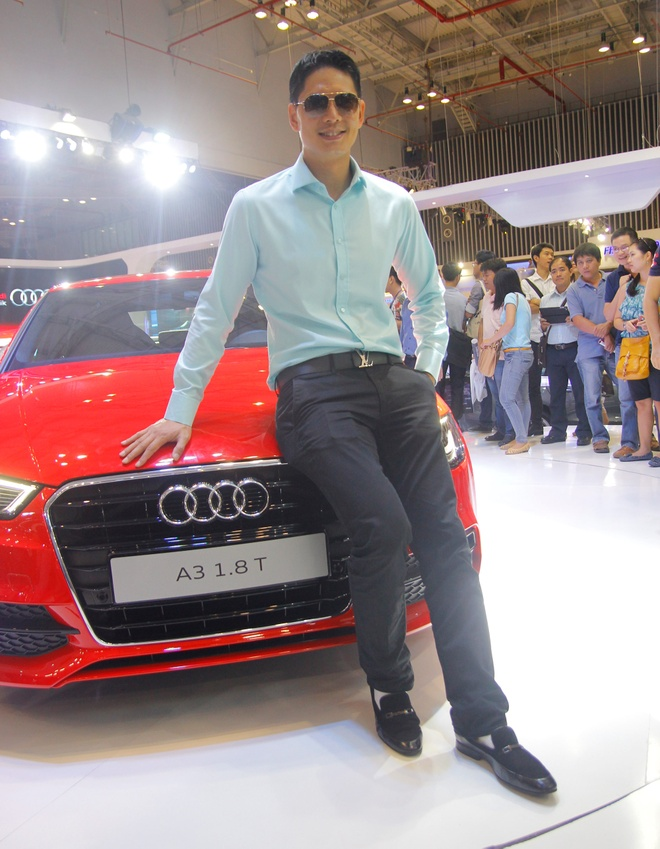 Binh Minh, Truong Ngoc Anh thu tieng po sieu xe Audi R8 hinh anh 6