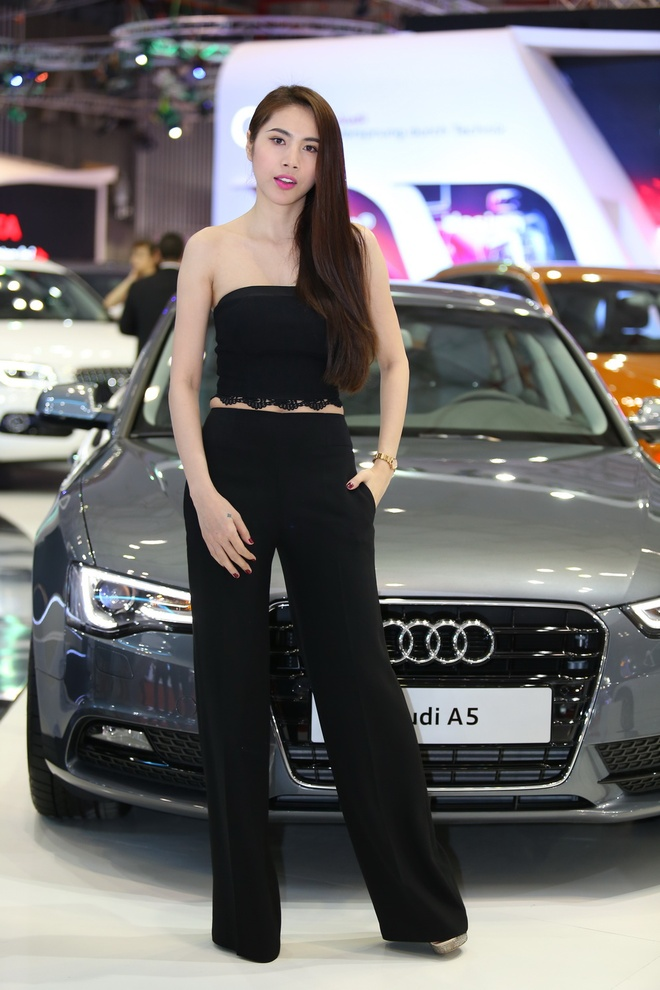 Dan sao dai su cua Audi tai Vietnam Motor Show 2013 hinh anh 3