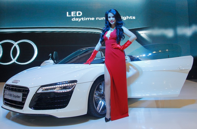 Dan sao dai su cua Audi tai Vietnam Motor Show 2013 hinh anh 12