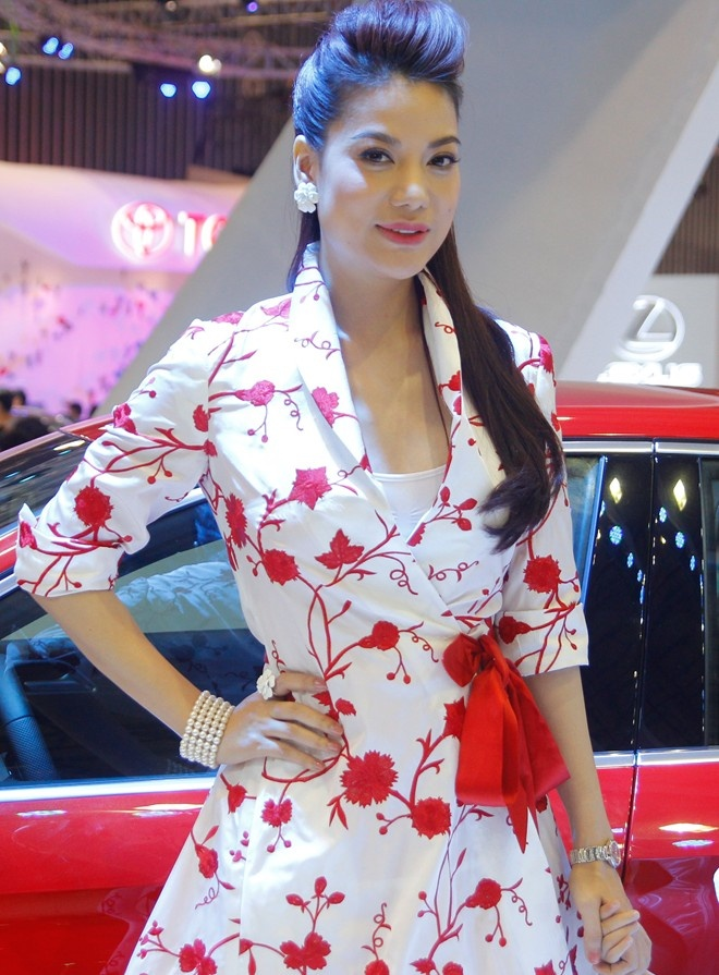 Dan sao dai su cua Audi tai Vietnam Motor Show 2013 hinh anh 8