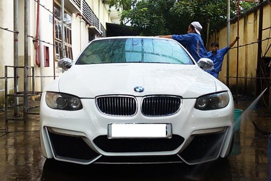 BMW mui tran do kieu dang du ton o Sai Gon hinh anh