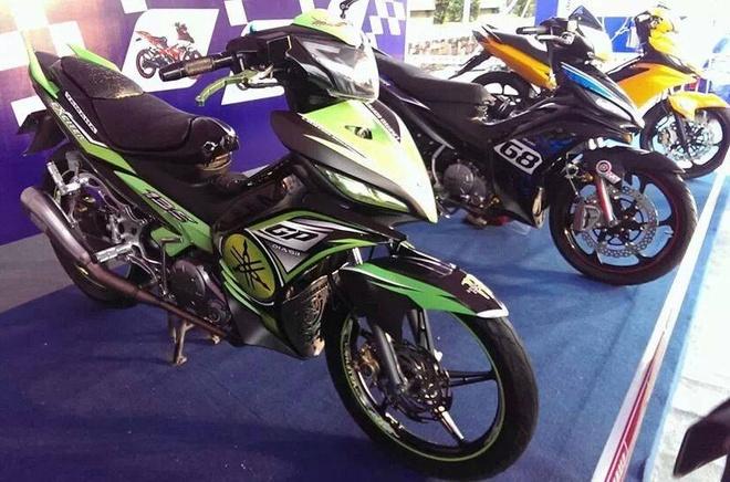 10 chiec Yamaha Exciter do khoe sac tai Hai Phong hinh anh