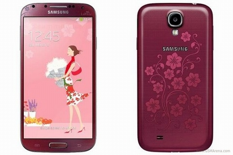 Samsung khoe phien ban Galaxy S4 danh cho phai dep hinh anh