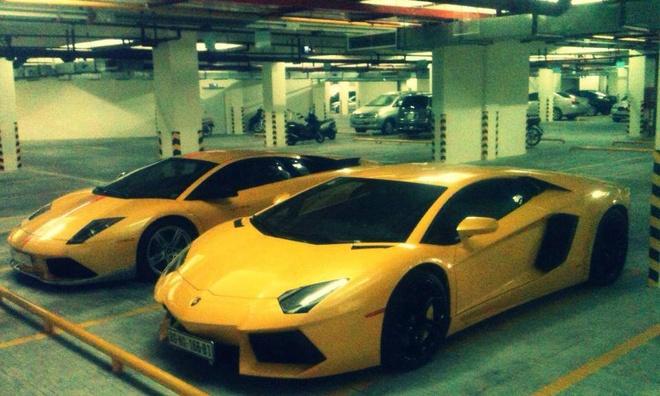 Bo doi sieu xe Lamborghini hang doc o Sai Gon hinh anh