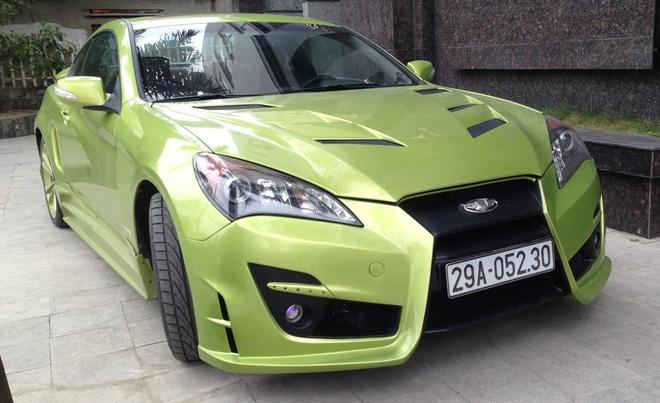 Hyundai Genesis do cua cat keo Lamborghini o Thanh Hoa hinh anh 1