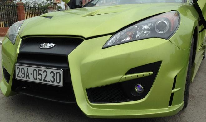 Hyundai Genesis do cua cat keo Lamborghini o Thanh Hoa hinh anh 2
