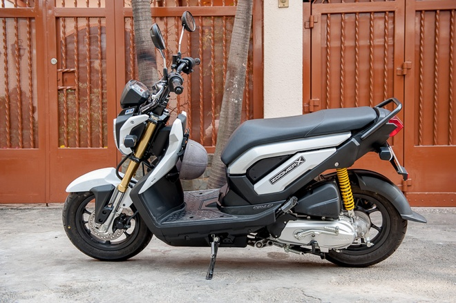 Honda Zoomer-X 2014 gia hon 60 trieu dong o Viet Nam hinh anh