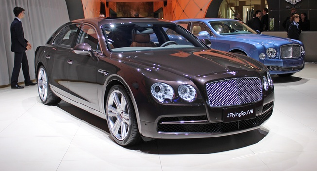 Bentley Flying Spur V8 xuat hien o Trung Quoc hinh anh