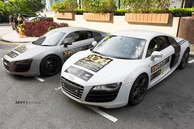 Anh dep sieu xe 24/3: Bo doi Audi R8 so dang hinh anh