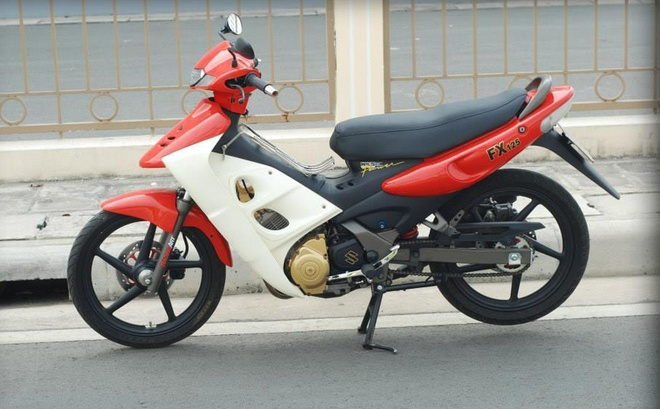 Suzuki FX125 tan trang cua 9X Sai Gon hinh anh