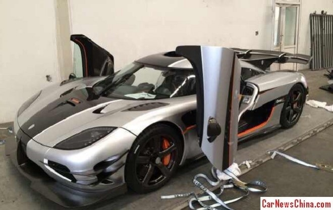 Koenigsegg Agera One:1 den Trung Quoc hinh anh