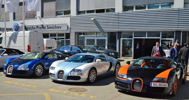 Anh dep sieu xe 21/4: Bo ba Bugatti Veyron o Sec hinh anh