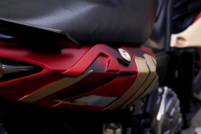 Yamaha Exciter do phong cach Iron Man hinh anh 6